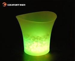 new product of 2015 plastic flashing bottle holder led ice bucket
