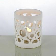 2015 New Fashion Round Ceramic Candle Holder