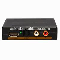 2015 NEW Digital to Analog Converter HDMI TO HDMI+Audio (SPDIF+L/R)