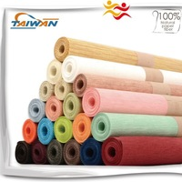 Eco-friendly Bamboo style Paper roll table runner for restaurant use