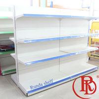 supermarket rack products promotional wobbler sale point display metal goods shelf