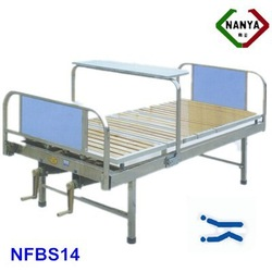 NFBS14 Flat Stainless Steel Hospital Bed equipment for the disabled