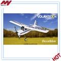 Decathlon avião 2.4 ghz( modo 2) 765-1 do avião de rc