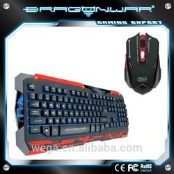Dragon War Sencanic Gaming Keyboard and Marco Mouse Combo Set
