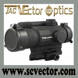 Vector Optics 1x35 Multi Reticle Red Dot Scope Mil-spec Matte Finish AA Battery