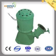 jet flow/water jet turbine with powder coating