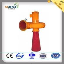 yellow high efficiency tubular turbine with low head generator
