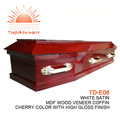 Td-e08 alta qualidade a partir de caixão caixão china fabrico