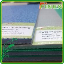 Rolling PVC floor