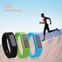 smart bracelet E05 alibaba express hot selling,best quality bluetooth smart bracelet from alibaba china
