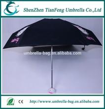 cute folding umbrella,cartoon rain umbrella,holle kitty umbrella