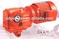 Serie k engranaje de reducción/reductor del engranaje de la rueda en/de plástico del engranaje de la rueda del engranaje