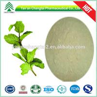 UV/HPLC GMP, ISO, BV 100% natural mint flavor powder
