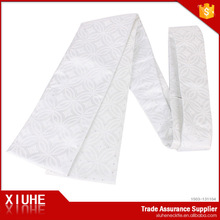 New design low price jacquard white reflective sash ceremonial sash