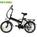 En15194 20 polegada liga barato bicicleta elétrica dobrável