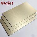 china alibaba aluwecan acp panel bella fondos de escritorio de hoja de aluminio compuesto de champán cepillado de color