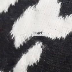 95% polyester and 5% spandex knit jacquard fabrics