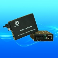 1000 base ethernet over fiber media converter
