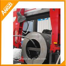 Angzi Brand Band Saw 2 Axes Horizontal Orientation Metal Sawing Machine