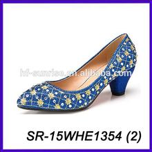 mature sexy girl high heel shoes women high heel dress shoes rhinestone jewelry shoe