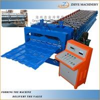 Hydraulic Trapezoidal Profile Metal Wall Plate Roll Forming Machine/ Colored Steel Glazing Sheets Making Machine
