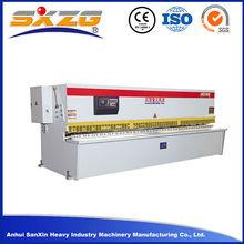 2015 Top Quality Guillotine Design Advanced steel plate shearing machine/hydraulic shear/metal sheet cutting machine