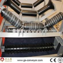 Carrier trough roller for conveyor,CEMA trough conveyor roller manufacturer