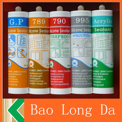 high quality Excellent Adhesion Properties heat resistant silicone sealant