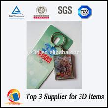 3d key chain/customized 3d key chains/3d key chains manufacturer