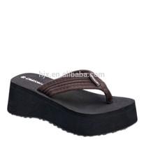 Latest popular wholesale women nude beach slippers