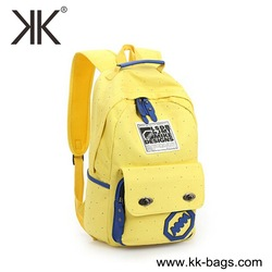 Girls canvas backpack bags fashion brand names cheap student backpack