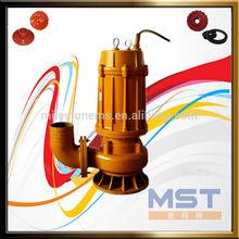 WQ vertical sewage submersible centrifugal pump