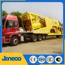 mobile concrete batch plant fibo intercon