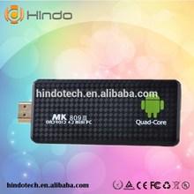full hd 1080p porn video android box Smart tv stick 2GB/8GB Quad Core Remote Control Mini PC mk809iii