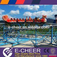 Theme Park Equipment Backyard kiddie amusement rides train