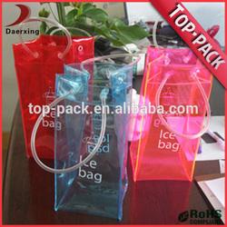 China clear plastic wholesale pvc cooler bag