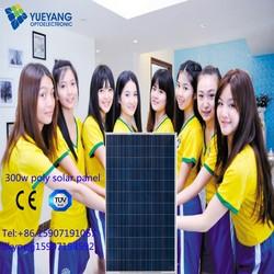 25 years warranty 300w poly solar panel with lowest price