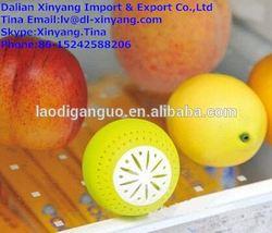 3d pvc fridge magnet/scent air freshener/3pcs/set refrigeratory ball