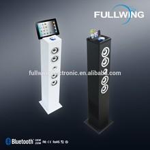 2015 hot selling floor standing bluetooth 2.1 tower speaker usb