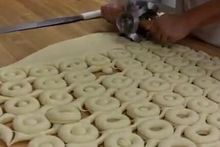 donut DIY round rolling pin donut mould doughnut cutter