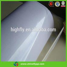 FLY shanghai alibaba sign in 70um stretch film jumbo roll glossy pvc photo 3d lamination film
