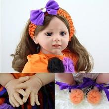 personalizado boneca de porcelana 24 polegadas baby alive realista reborn bonecas de silicone para a venda