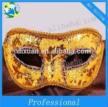 PVC Half a face mask masquerade lacy PVC mask Halloween mask of Venice