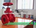 Dn50-300 FM UL de protección contra incendios 200PSI NRS válvula de compuerta con bridas con rueda