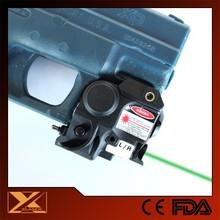 SubCompact lightweight LED light plus handgun laser sight