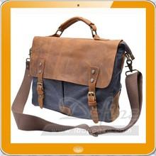 Genuine Leather Cross Body Laptop Messenger Shoulder bag