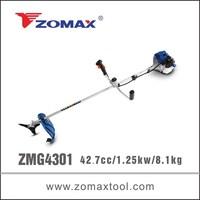 made in china 42.7cc ZMG4301 garden brush cutter, best brush cutter, brush cutter price