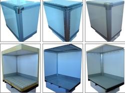 insulated refrigeration food truck body mini bucket truck sale