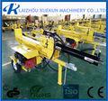 maquinariaforestal de madera de la división de motor de gasolina registro divisor de tornillo de registro divisor