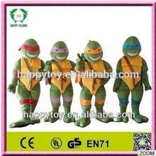 Hi CE adultos Ninja turtles traje de la mascota, Película traje de la mascota